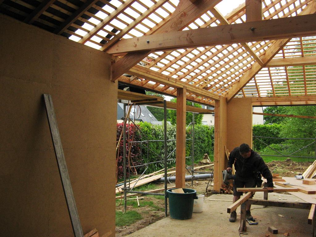 Traitement naturel des maisons en bois