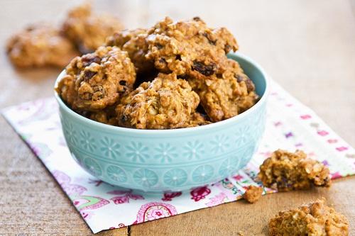 Les biscuits aux pommes et aux raisins, une recette diététique et gourmande