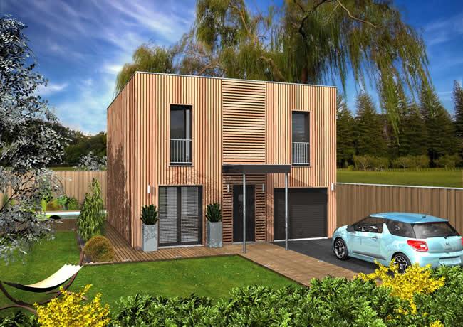 Les atouts de séduction d'une maison en bois et écologique