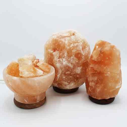 cristal de sel de l'Himalaya