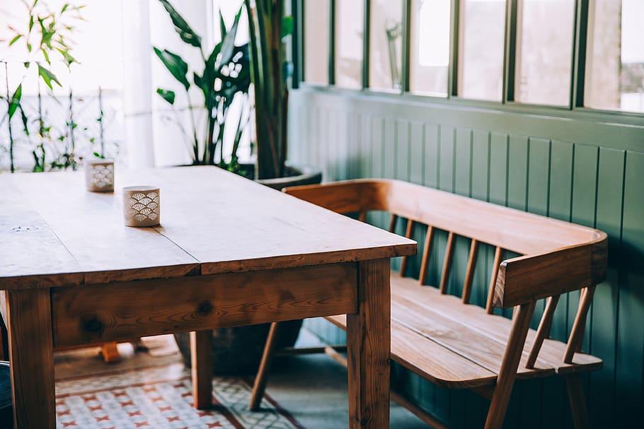table-banc-bois-salle-à-manger